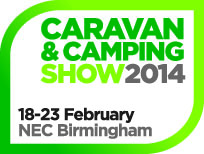The Caravan and Camping Show NEC Birmingham February 2014