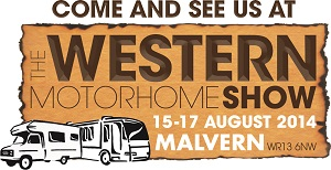 Malvern Western Motorhome Show August 2014