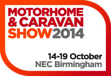 Motorhome and Caravan Show NEC Birmingham October 2014