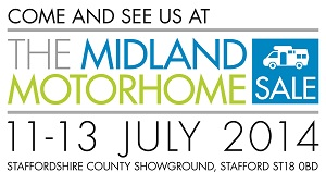 The Midland Motorhome Show July 2014