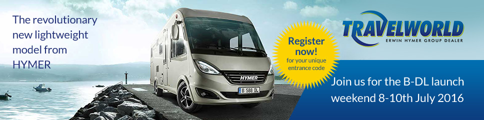 Hymer B Class Dynamic Launch Weekend Event