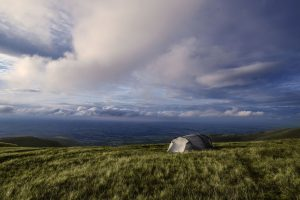 Camping in Brecon Beacons
