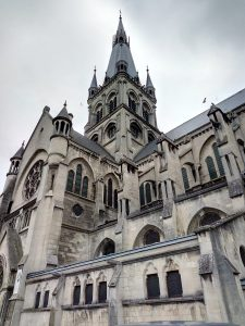 Cathedral in Epernay France
