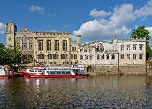 York Guildhall on the river