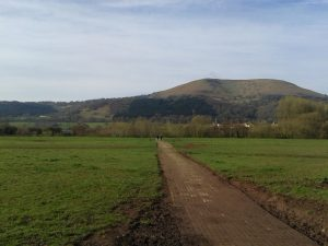 country walk in Abergavenny