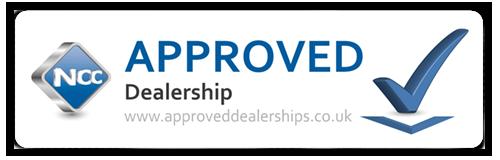 NCC Approved Dealership sign