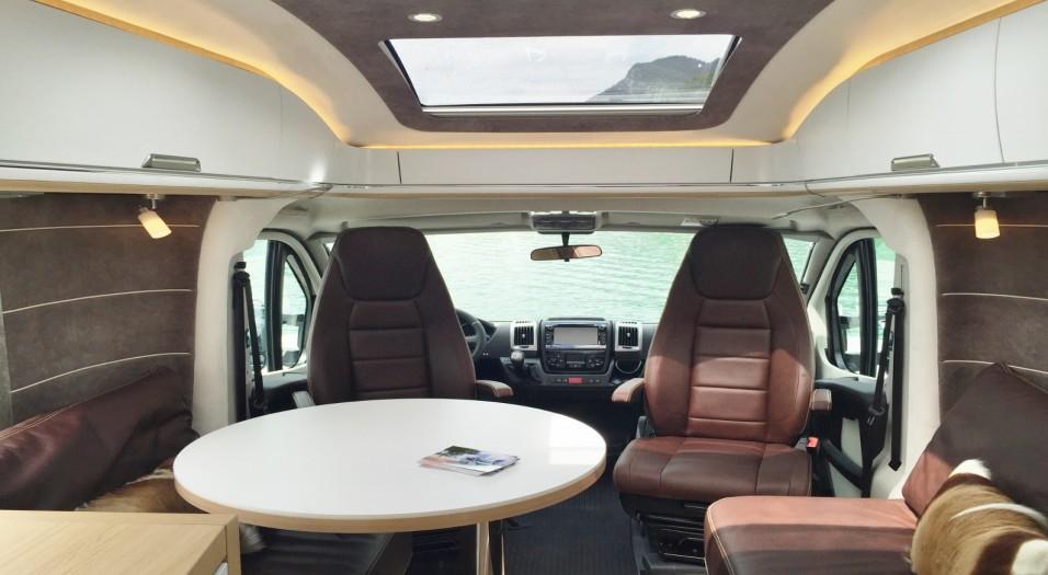 Niesmann + Bischoff interior view