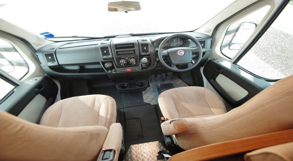 Carado A Serie 461 Interior Dashboard