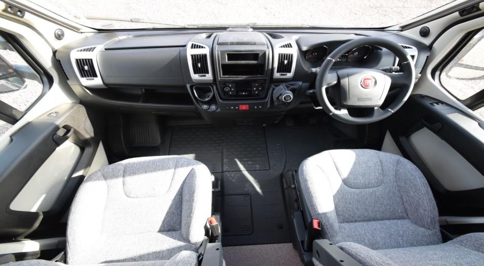 Dethleffs Globebus T1 Interior Dashboard