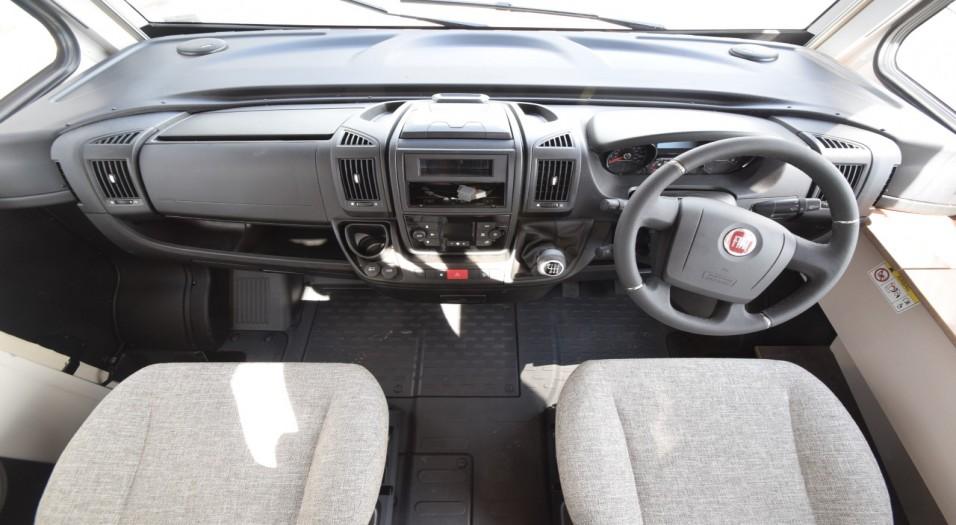 Dethleffs Trend T 6557 DBM Interior Dashboard