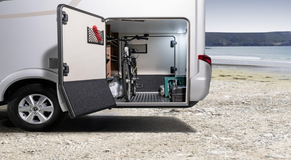 Hymer B Class Modern Comfort T 680 rear storage