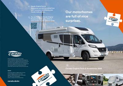 Carado Parts Accessories Brochure 2018