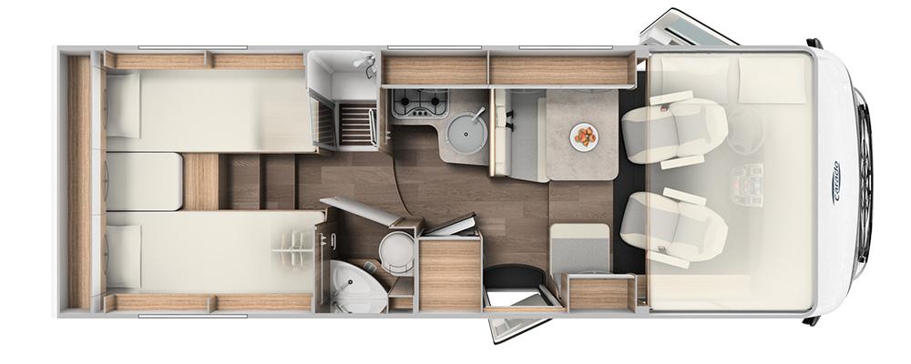Floorplan VE Integrated I447 GP