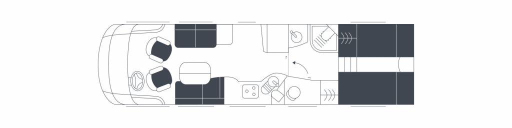 Floorplan Flair 920ek