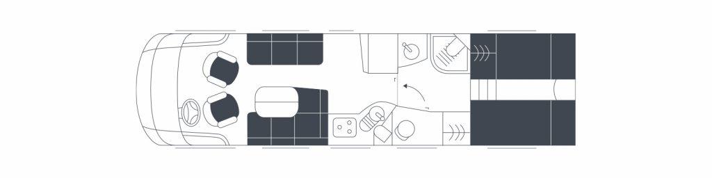 Floorplan Flair 920le thumb