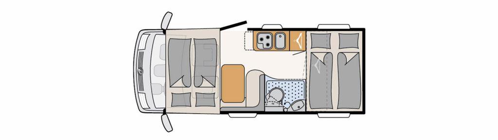 Floorplan Globebus I1