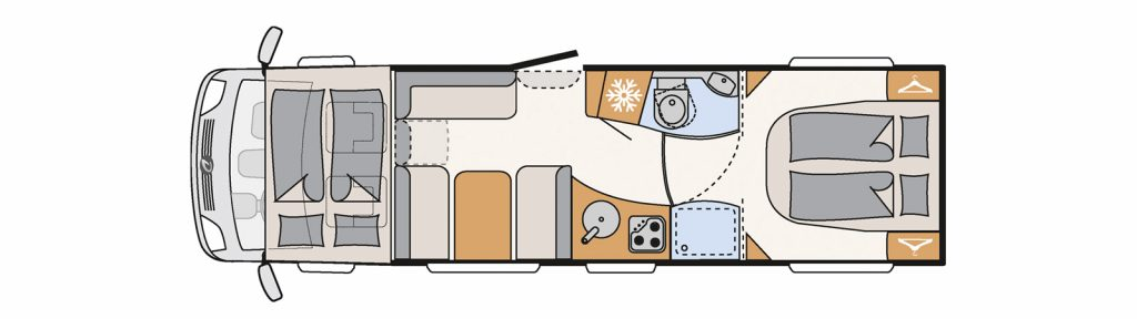 Floorplan globetrotter a9050