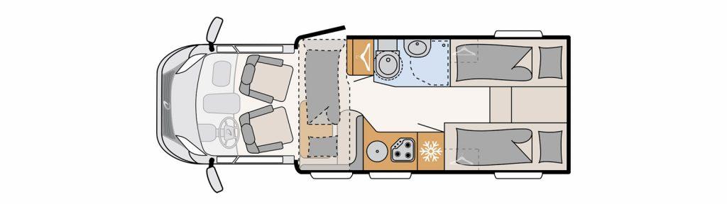 Floorplan pulse t6811 eb