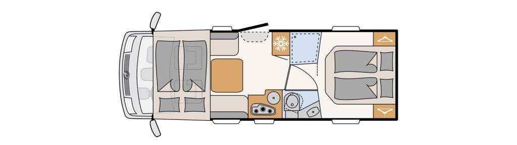 Floor plan trend i7057 dbl