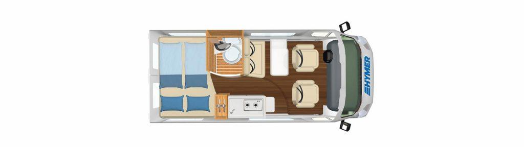 Carado Camper Van Free 540