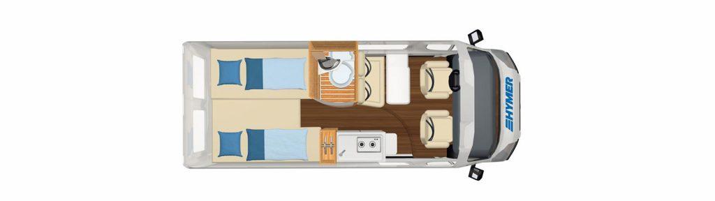 Carado Camper Van Free 602