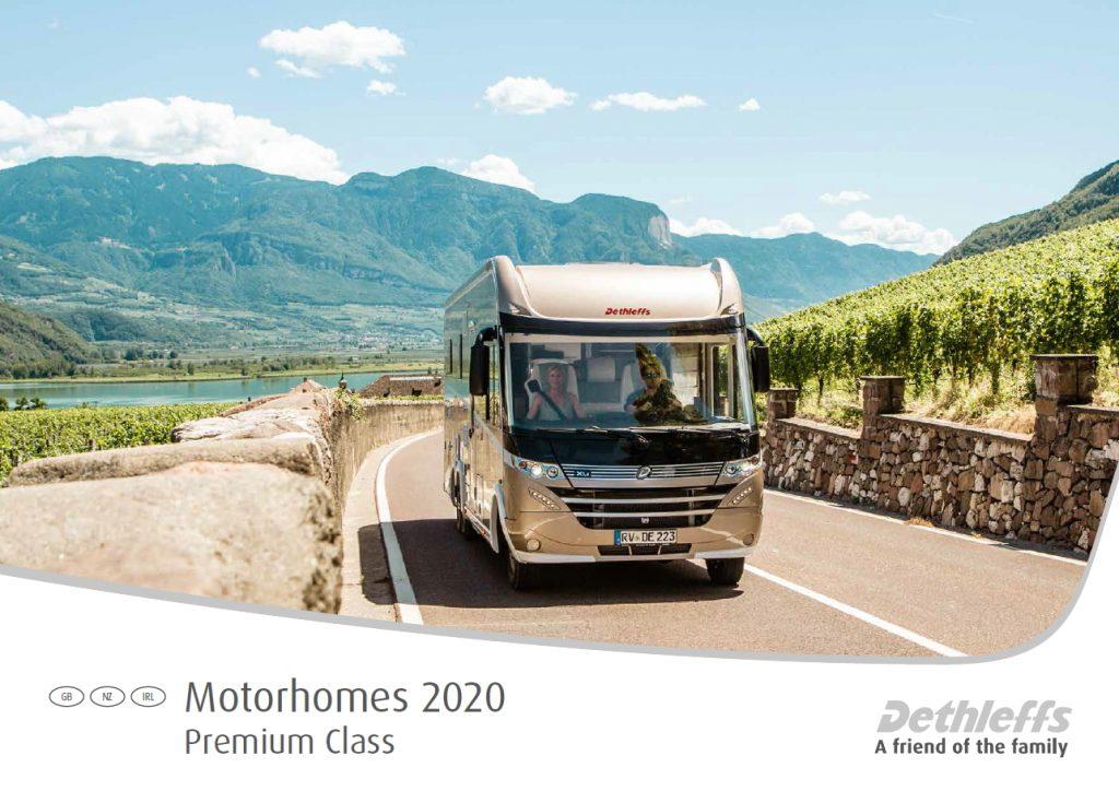 Dethleffs Brochure Motorhomes Premium Class 2020