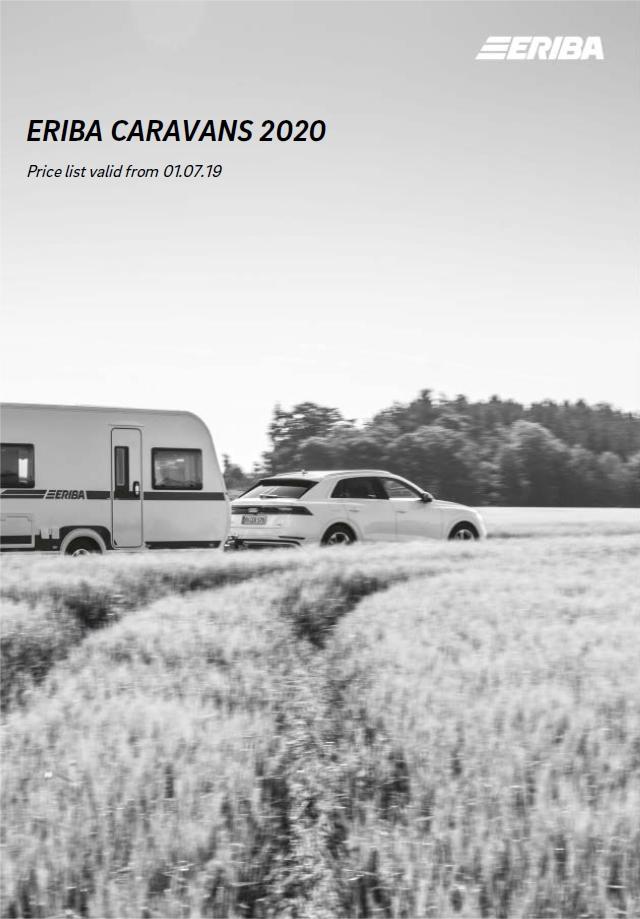 Eriba Caravans Price List 2020