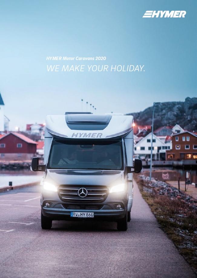HYMER Reisemobile Broschuere 2020