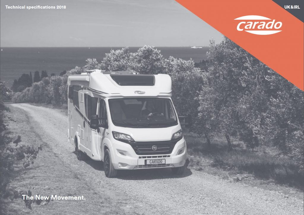 CARADO Motorhomes 2018 Specifications