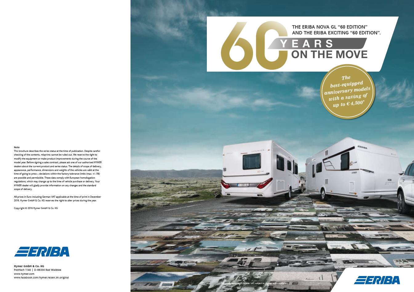 Eriba nova GL 60 Edition