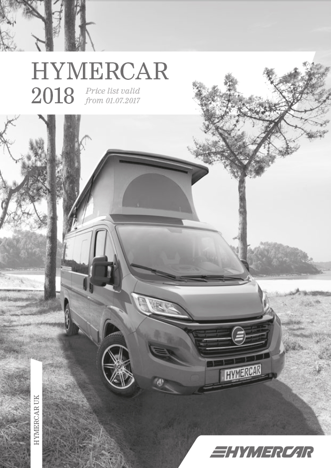 Hymercar Specifications 2018