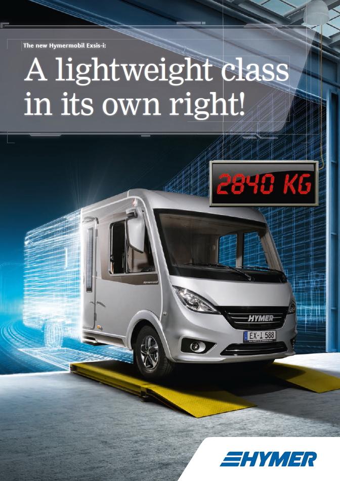 Hymermobil Exsis-i / Exsis-t 2018 Brochure