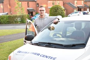 Harry Price from Erwin Hymer Centre Travelworld sets off to Germany to Hymer