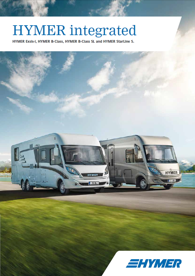 Hymer Integrated 2016 Brochure