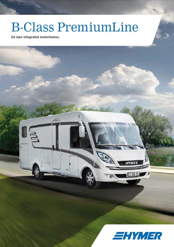 Hymer B Class Premium Line 2016 Brochure
