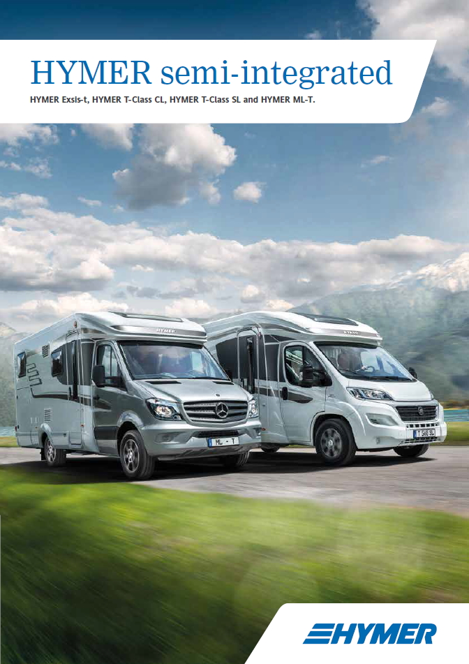 Hymer Semi-Integrated 2016 Brochure