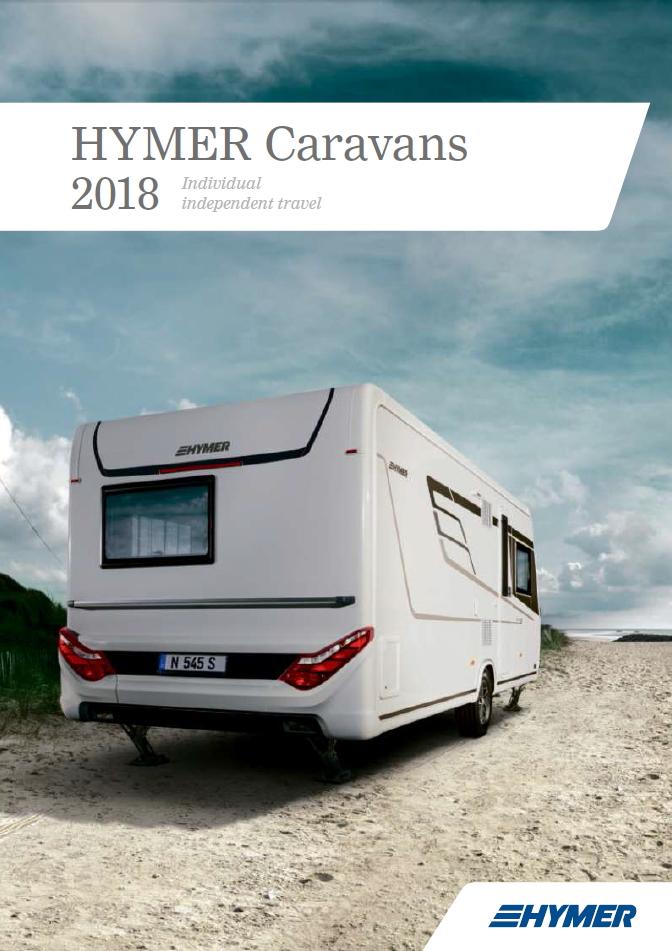 Hymer Caravan 2018 Brochure