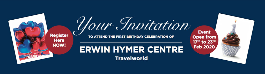Erwin Hymer Centre First Anniversary event