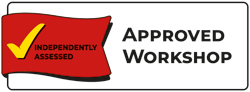 Approved Workshop NCC logo