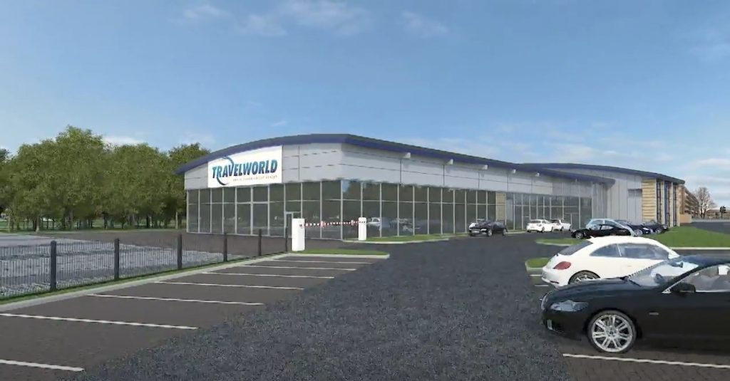Video: Travelworld's New 5 Acre Site Showrooms