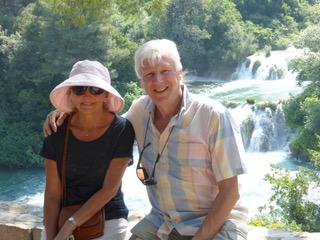 David and Jackie in Croatia