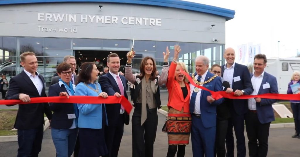 Video: Erwin Hymer Centre Grand Opening