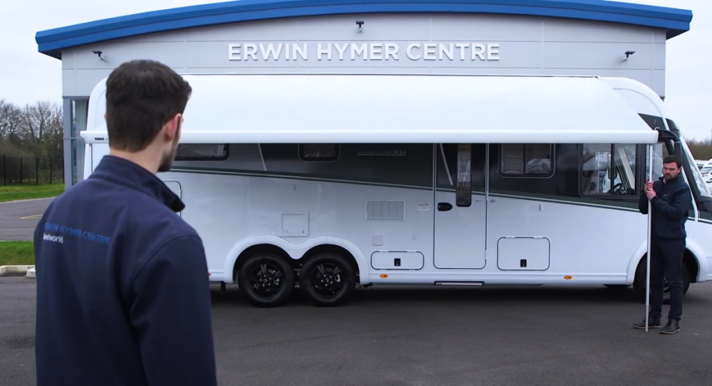 Video: How to operate an Electric Awning