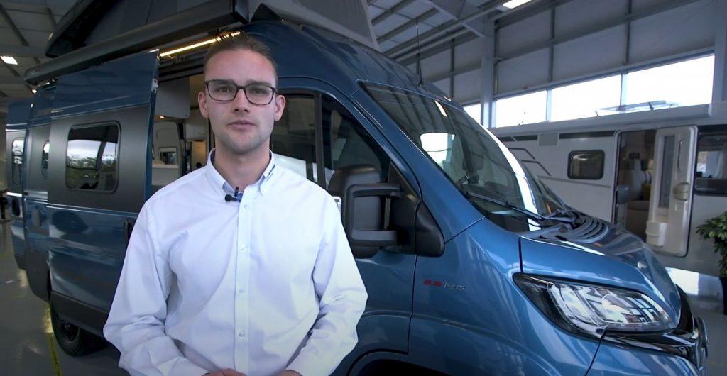 Video: HYMER Camper Van Free 540 Blue Evolution